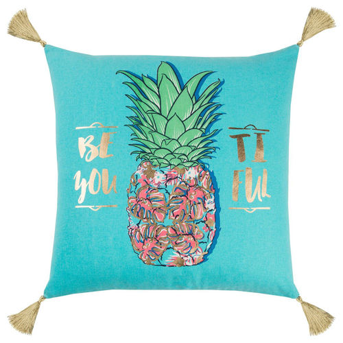Picture of BLUE PINEAPPLE PILLOW