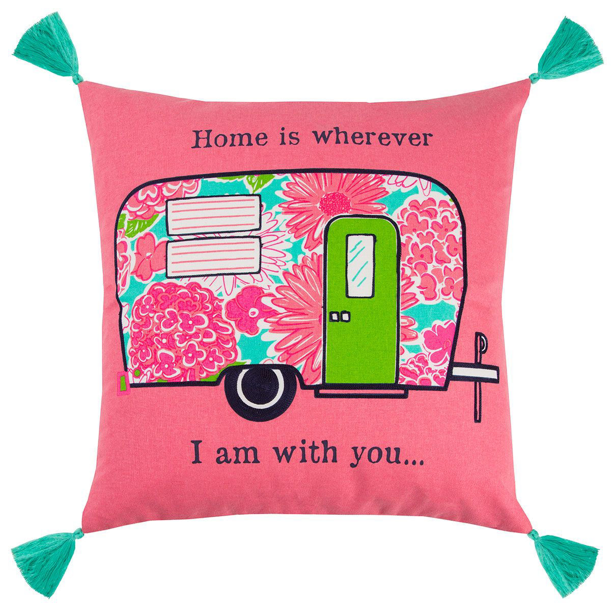 Picture of HOME IS WHERE YOU ARE PILLOW
