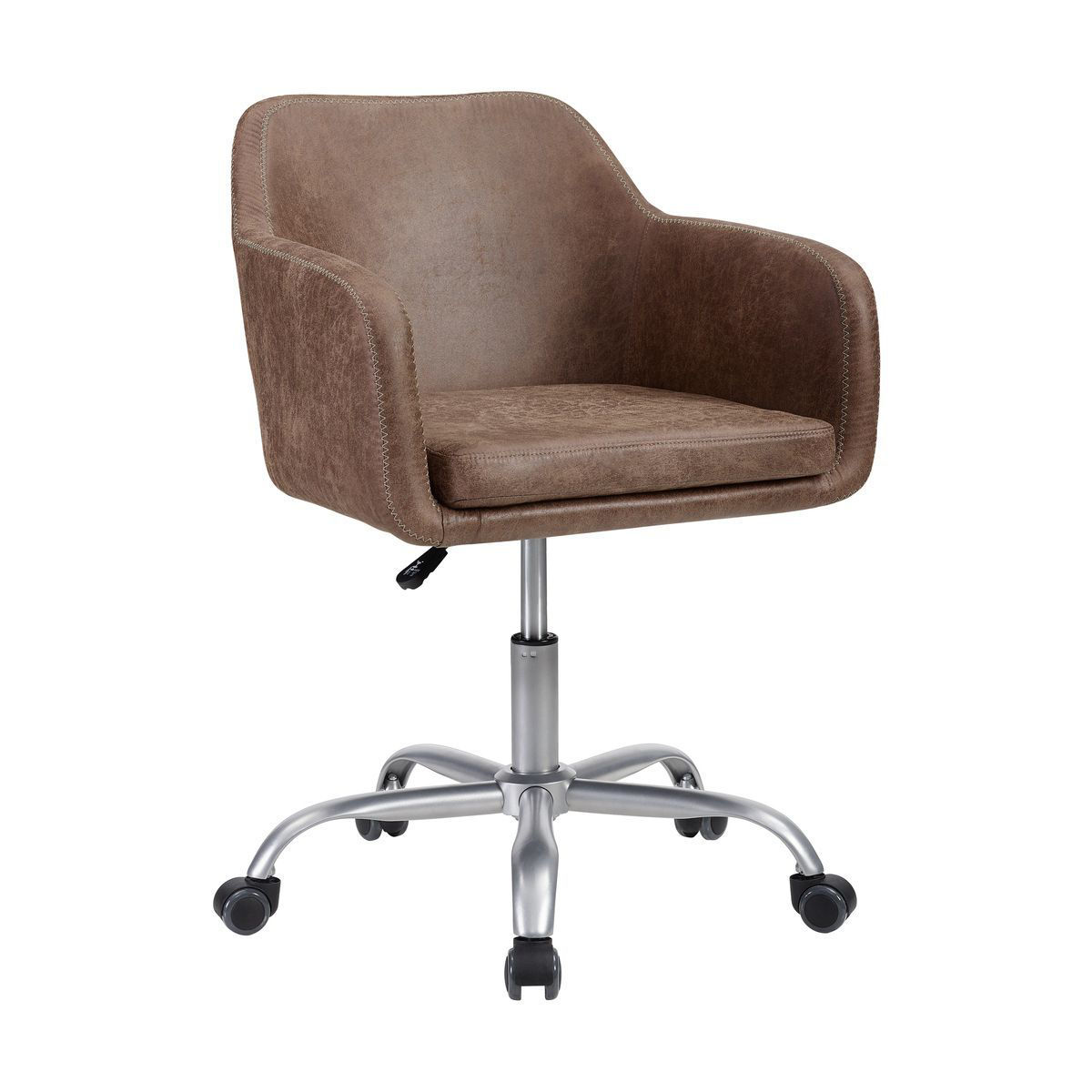 Picture of VINTAGE BROWN OFFICE CHAIR