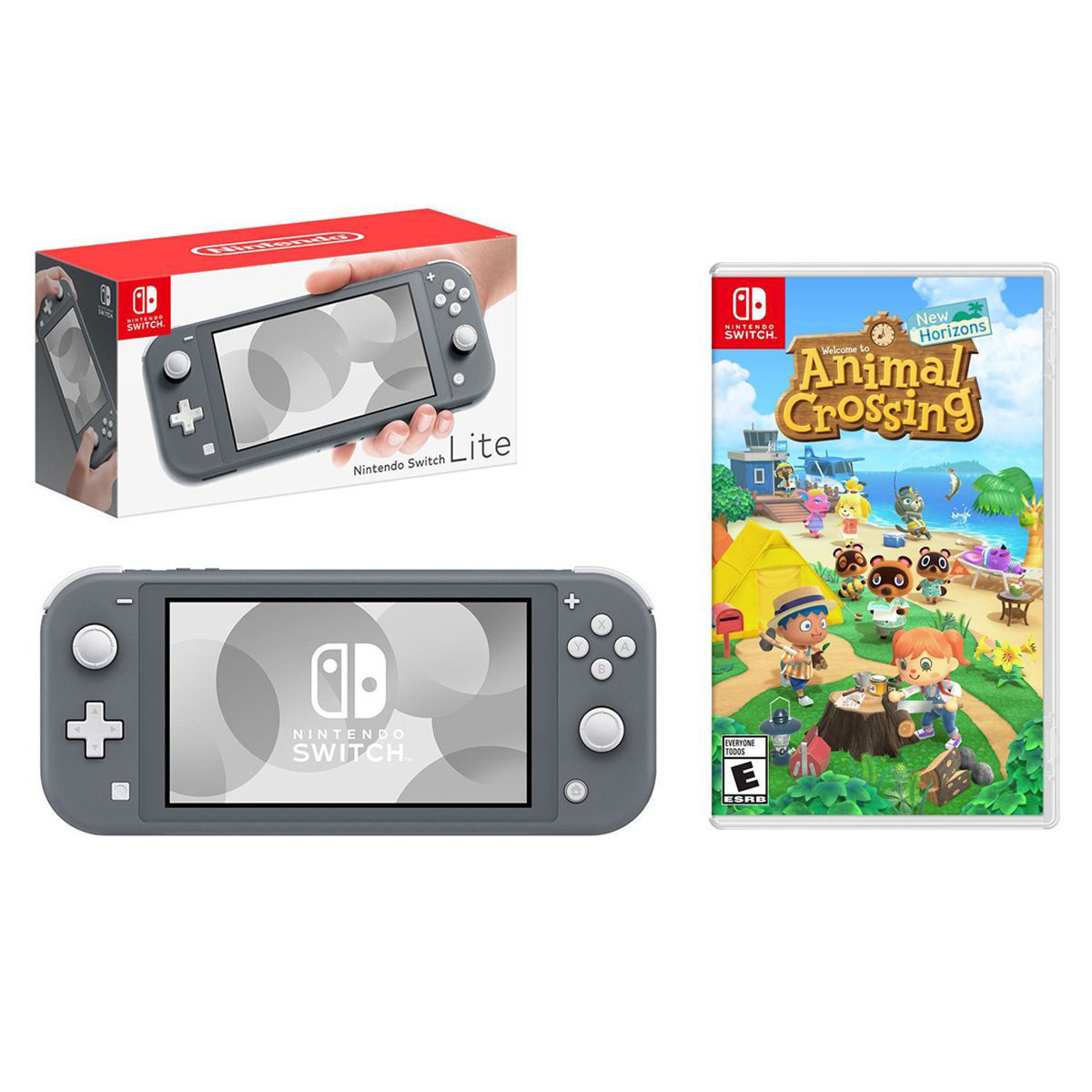 Picture of NINTENDO SWITCH LITE + ANIMAL CROSSING