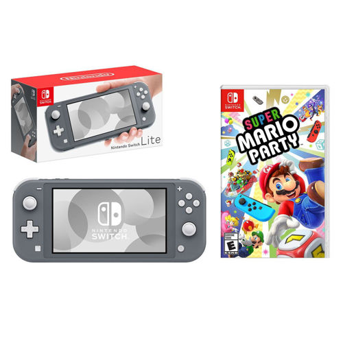 Picture of NINTENDO SWITCH LITE + SUPER MARIO PARTY
