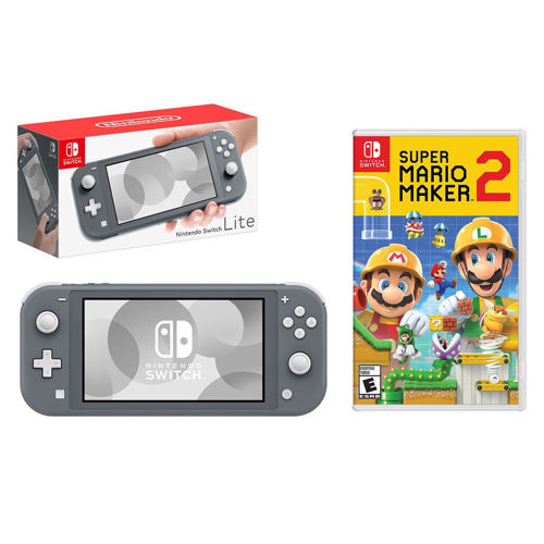 Picture of NINTENDO SWITCH LITE + SUPER MARIO MAKER 2
