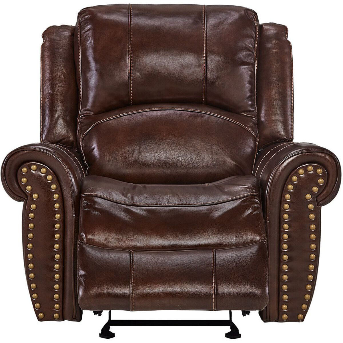 Picture of WORTHINGTON LEATHER GLIDING RECLINER
