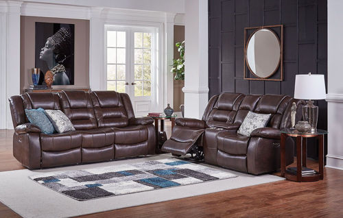 Picture of NEXUS CHOCOLATE 3 PIECE LIVINGROOM GROUP