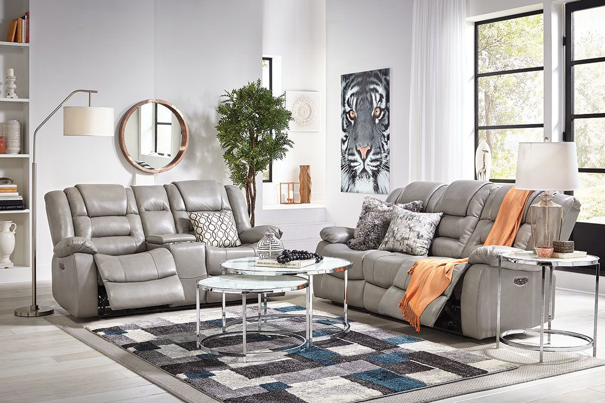 Picture of NEXUS GREY 3 PIECE LIVINGROOM GROUP
