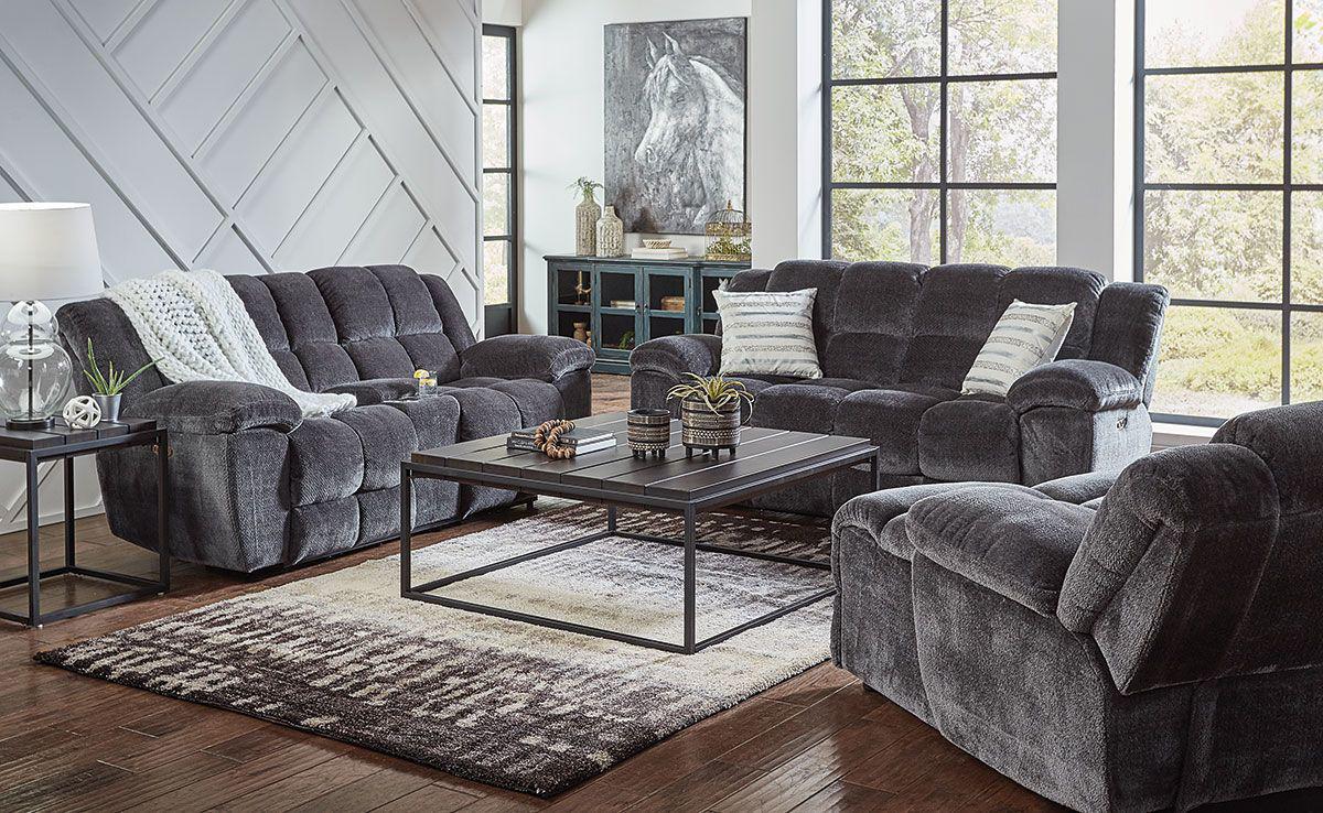 Shelby 3 Pc Livingroom Group Bad, 3 Piece Living Room Set