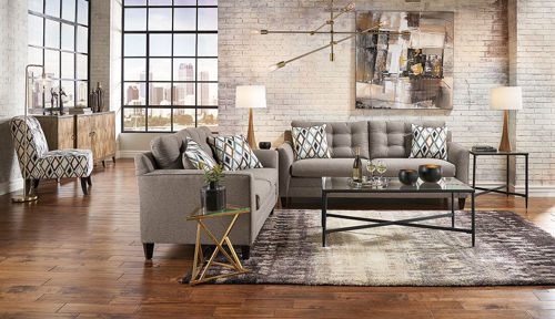 Picture of HALEY GREY 3 PIECE LIVINGROOM GROUP