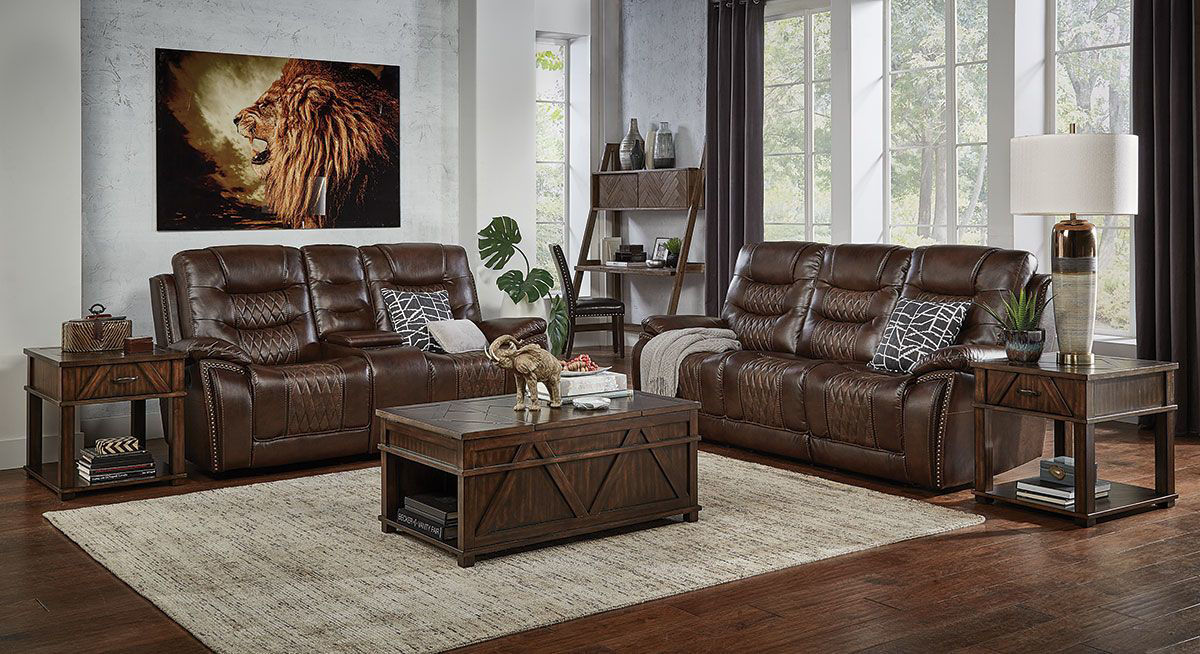 Picture of COMMANDER 3 PIECE LIVINGROOM GROUP