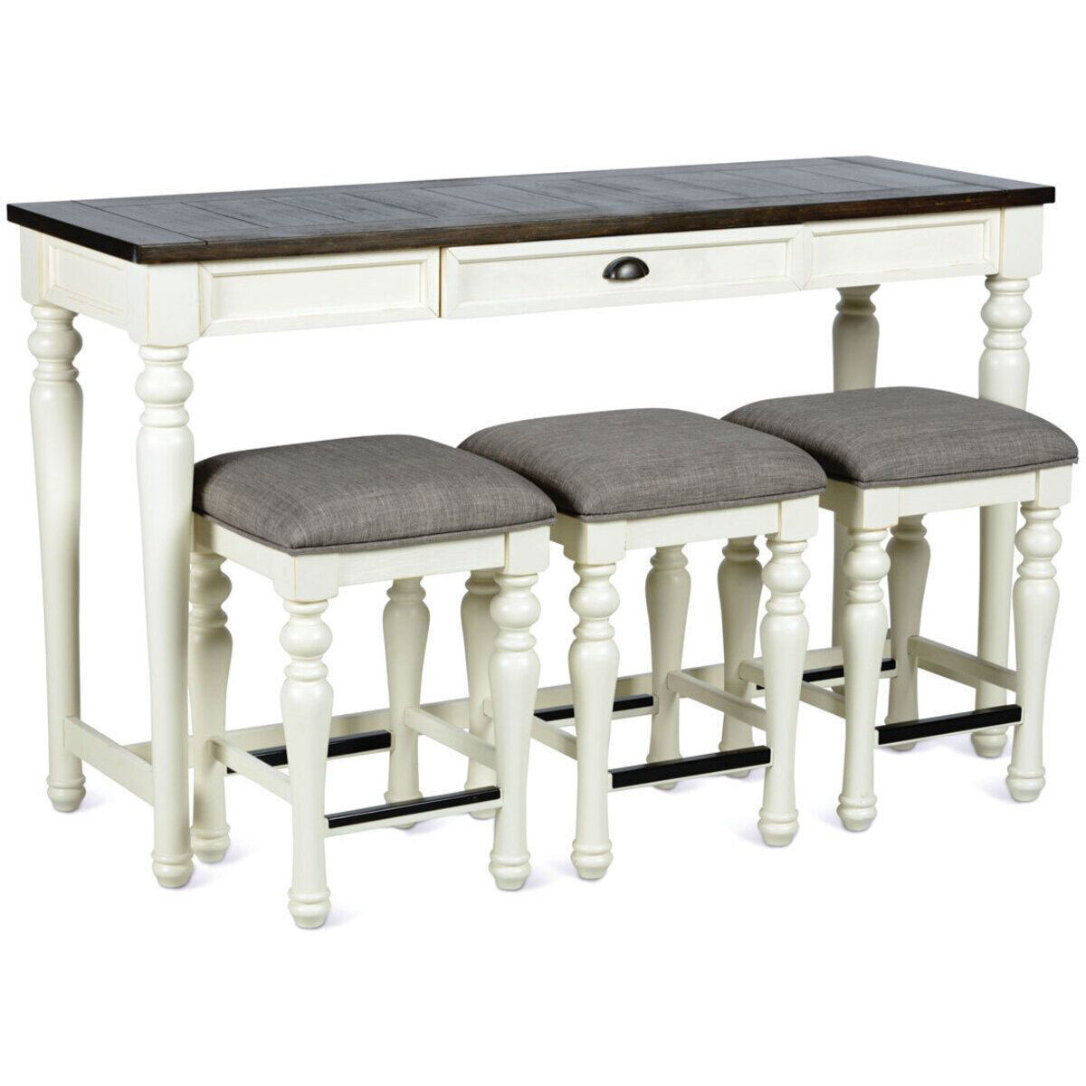 Picture of BRIARWOOD BAR & 3 STOOLS