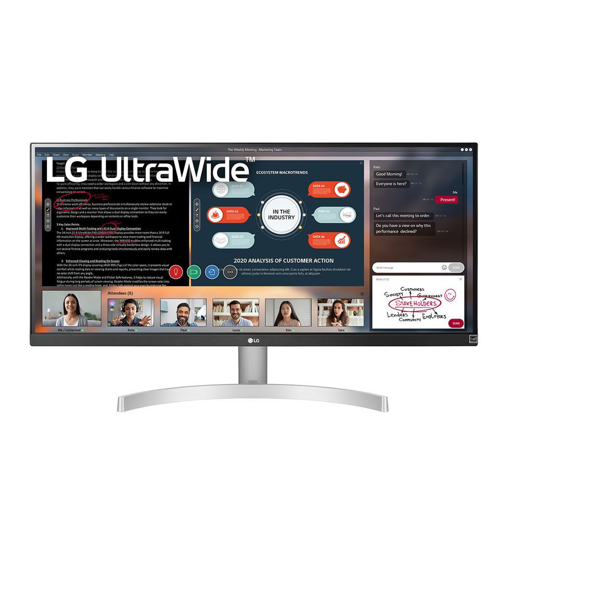 "Picture of LG 29"" ULTRAWIDE MONITOR"