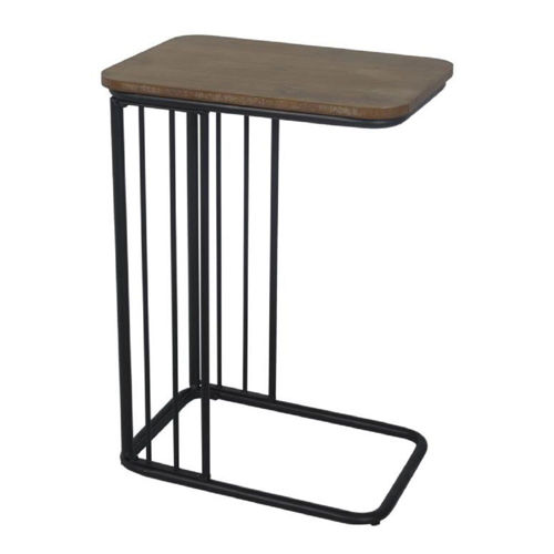 Picture of TRADITIONAL C-SHAPED SIDE TABLE