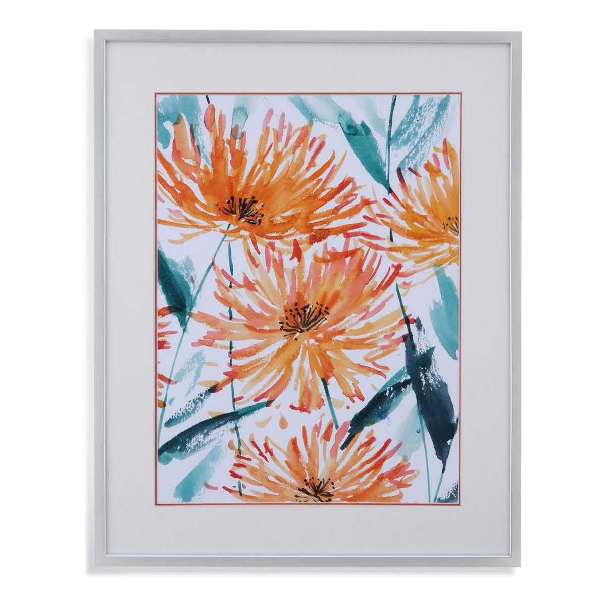 Picture of CHRYSANTHEMUMS WALL ART