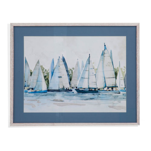 Picture of SAILBOAT RACES WALL ART
