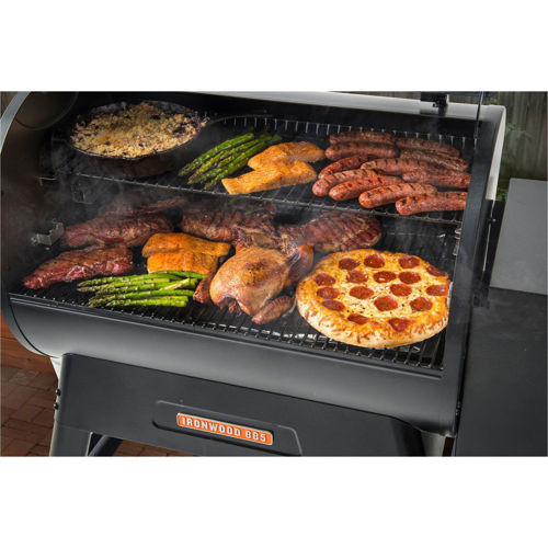Picture of TRAEGER IRONWOOD 885 PELLET GRILL