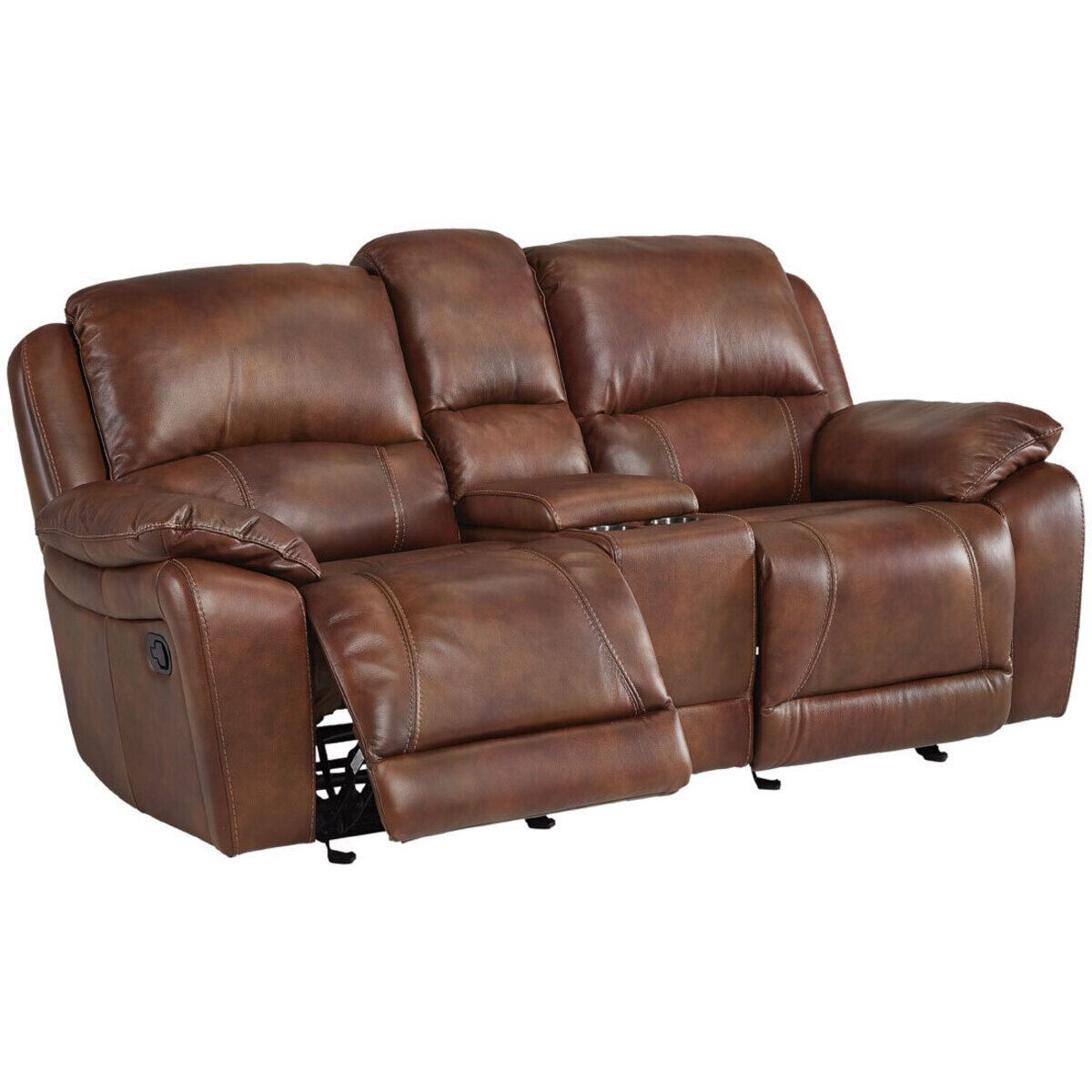 Picture of BRADFORD RECLINING CONSOLE LOVESEAT