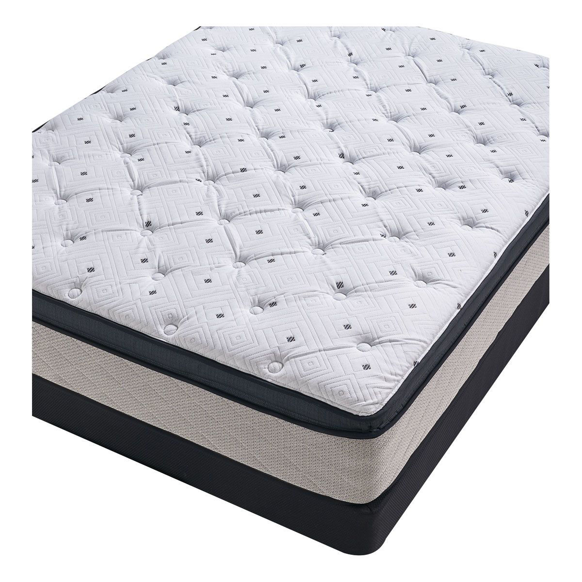Picture of SEALY BRAMLEY QUEEN MATTRESS SET