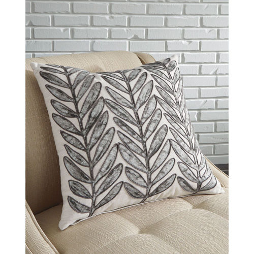 Picture of LEAF DESIGN THROW PILLOW