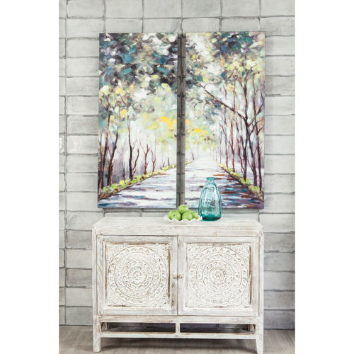 Picture of TREES DOUBLE CANVAS WALL ART
