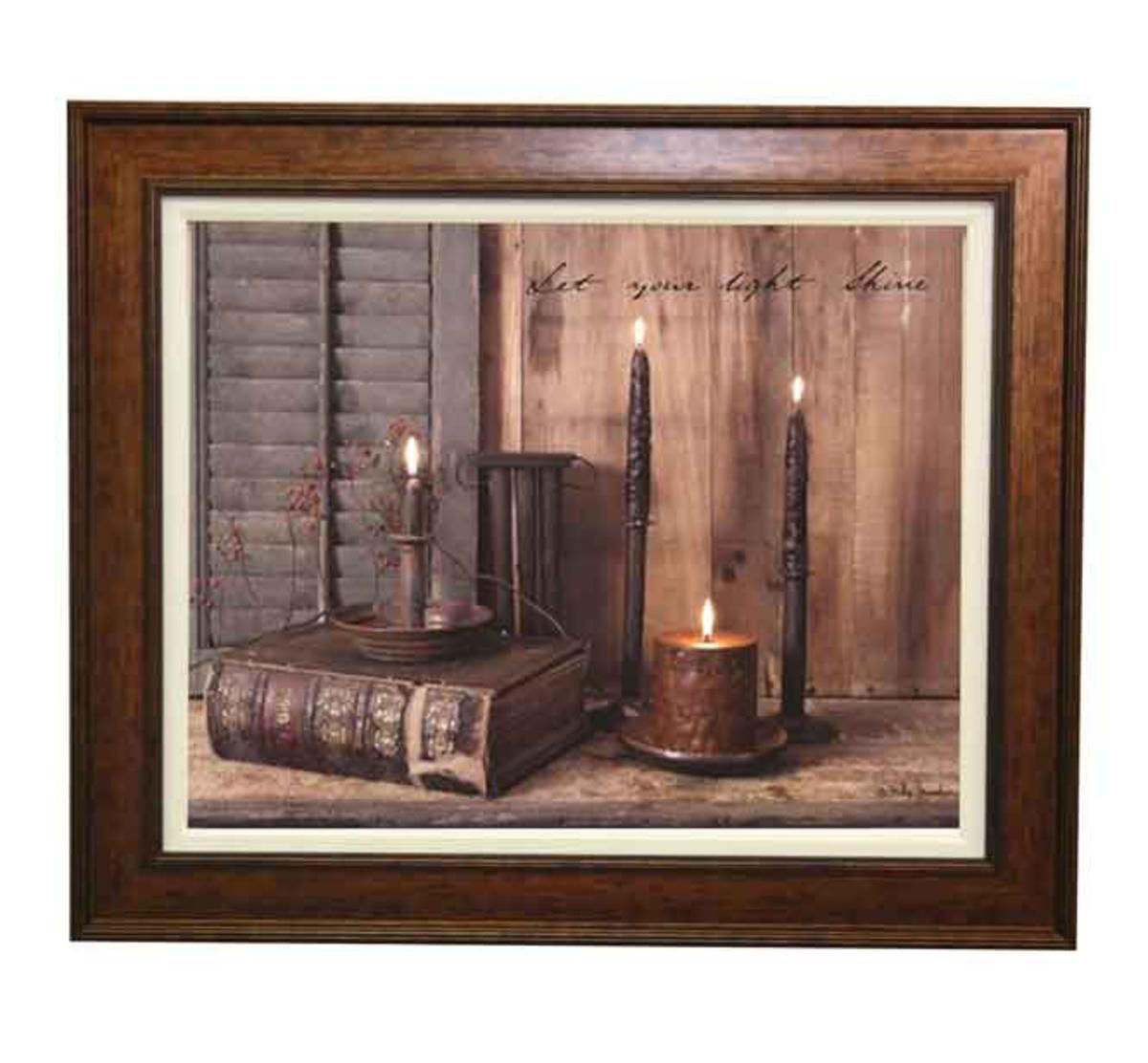 Picture of LET YOUR LIGHT SHINE WALL ART