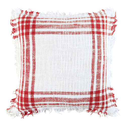 Picture of PLAID THROW PILLOW