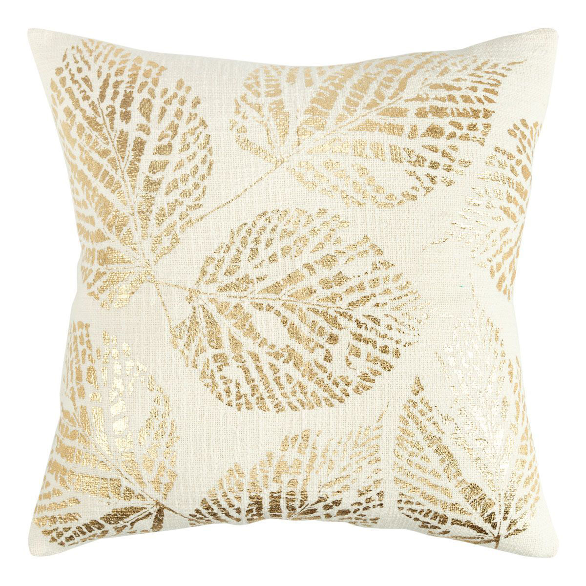 Picture of GOLD LEAF THROW PILLOW