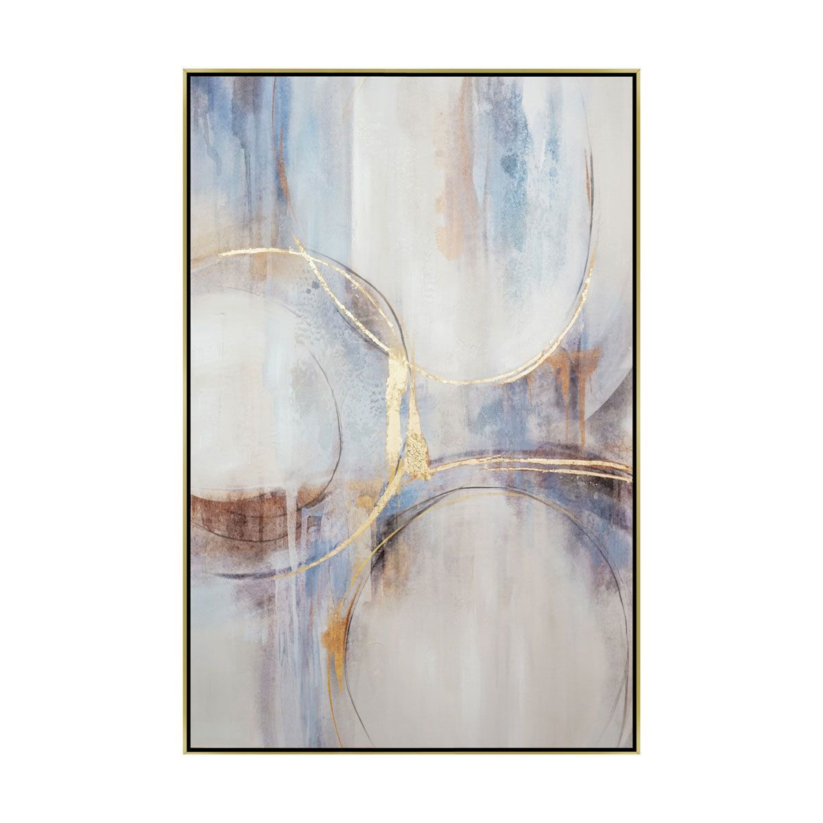 Picture of WALL ART ABSTRACT CIRCLE CANVAS