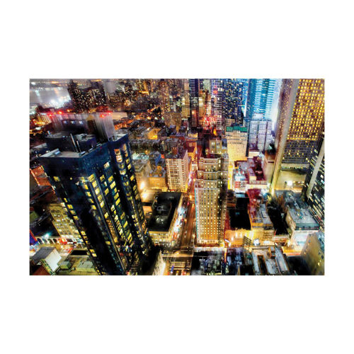 Picture of WALL ART CITY SCAPE