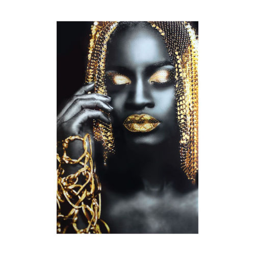 Picture of WALL ART GOLDEN LADY