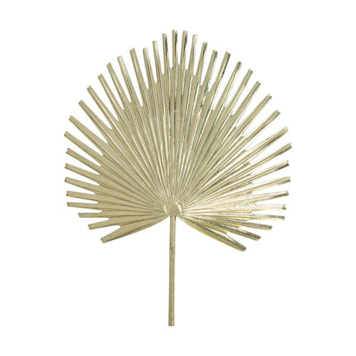 Picture of WALL ART GOLD PALM FROND II
