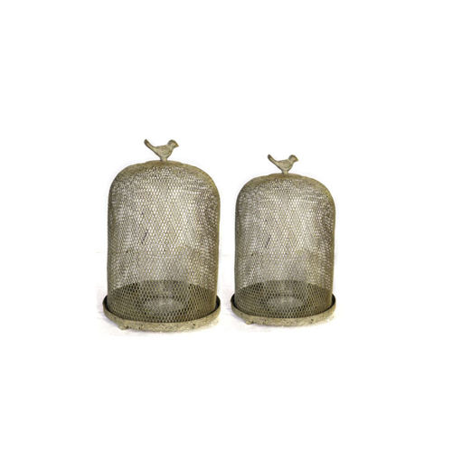 Picture of SPARROW CANDLEHOLDER SET