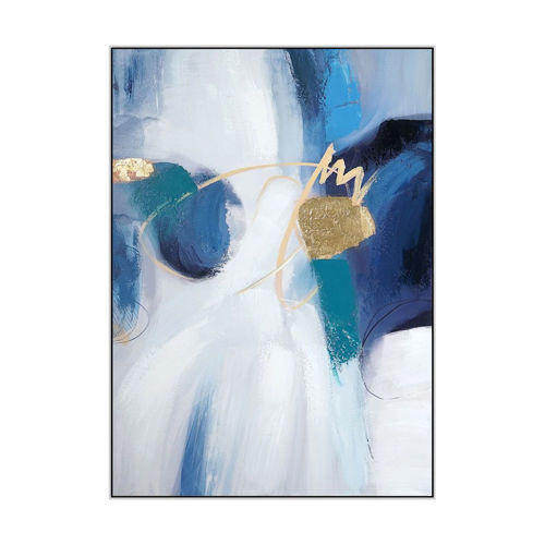 Picture of WALL ART BLUE MATE
