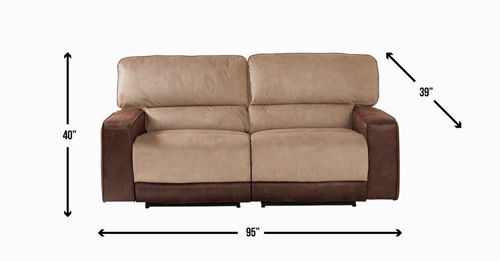 Picture of PASADENA 2PC RECLINING LOVESEAT