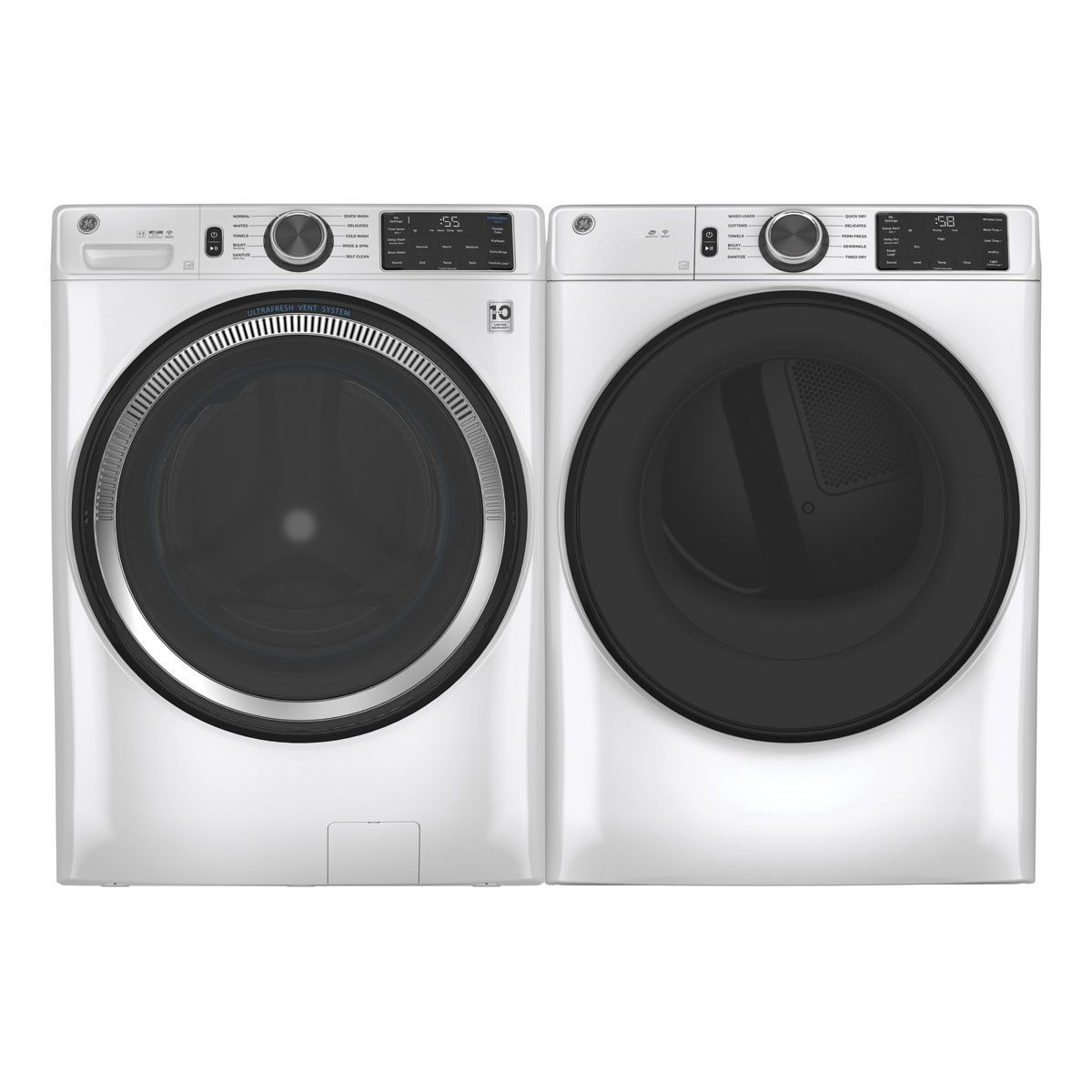 Picture of GE Front Load Washer & Dryer Pair