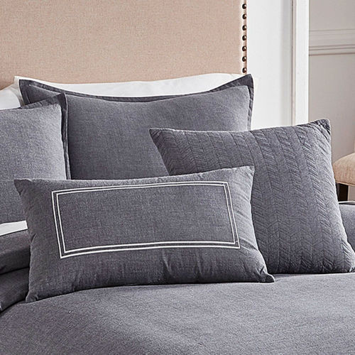 Picture of CHAMBRAY GREY LINEN SET