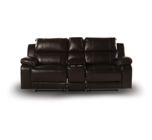 Picture of BRISTOL RECLINING CONSOLE LOVESEAT