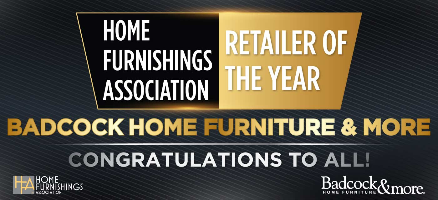 Badcock Home Furniture Retailer of the Year by Home Furnishings Assocation