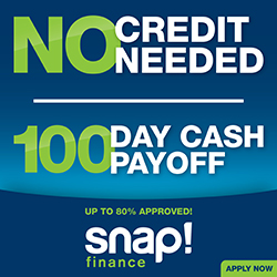 Snap Financing 100 Day Banner Image